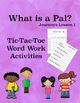 Journeys Unit 1 Bundle Tic Tac Toe Activities