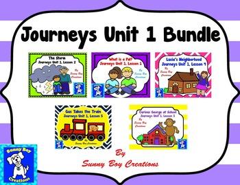 Journeys Unit 1 Bundle