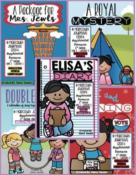 Journeys Unit 1 Bundle - Fifth Grade Supplemental Materials