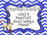 Journey's Unit 1 Essential Question