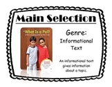 Journey's Unit 1 Focus Walls - Includes Lessons 1 - 5 Focus Walls