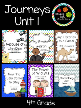 Journeys Unit 1 (Fourth Grade)
