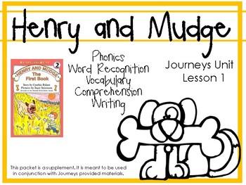 Journeys Unit 1: Henry and Mudge [Supplemental Resource]