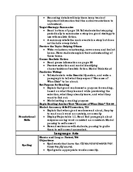 Journeys Unit 1 Lesson 1