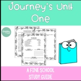 Journeys Unit 1 Lesson 1: A Fine, Fine School Study Guide