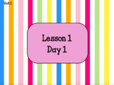 Journeys Unit 1 Lesson 1 - ActivInspire Flipchart