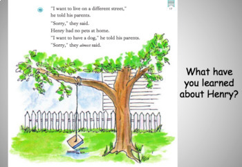Journeys Unit 1 Lesson 1 (Henry and Mudge)