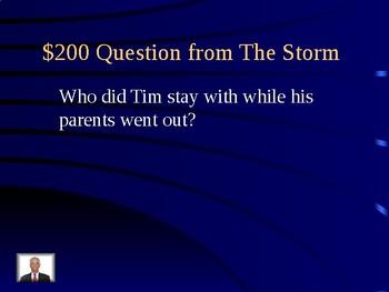 Journeys Unit 1 Lesson 2 The Storm Jeopardy Review