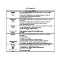 Journeys Unit 1 Lesson 3 - 5 Day Lesson Plan