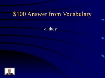 Journeys Unit 1 Lesson 3 Curious George at School Jeopardy Review