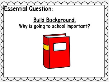 Journeys Unit 1 Lesson 3 Interactive Power Point, First Grade