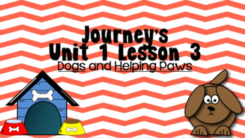 Journeys Unit 1 Lesson 3 Vocabulary Introduction Powerpoint