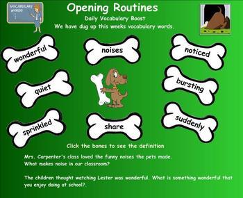 Journeys Reading Unit 1 Lesson 5 Grade 2 Smartboard Lesson