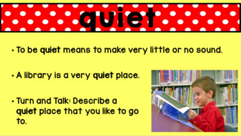 Journeys Unit 1 Lesson 5 Vocabulary Introduction Powerpoint