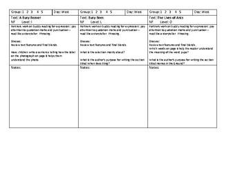 Journeys Unit 2, Lesson 6 Animals Building Homes GR lesson plans Grade 2