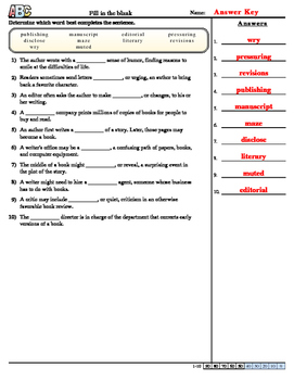 Journeys Unit 1 Lesson1 Vocab practice sheets for the School Story