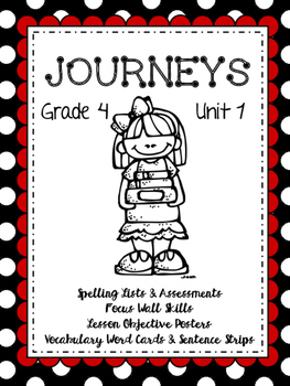 Journeys Unit 1: Lessons 1-5