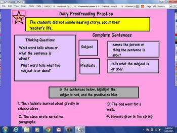 Journeys Unit 1 Lessons 1-5 Grammar