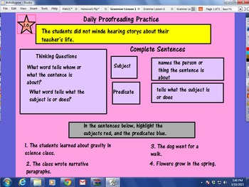 Journeys Unit 1 Lessons 1-5 Grammar