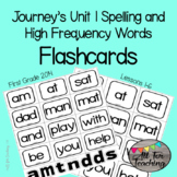 Journeys Unit 1 Lessons 1-6 Spelling and High Frequency Wo