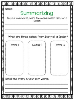 Journeys Unit 1 Neighborhood Visit Grade 2 {Editable}
