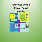 Journeys Unit 1 PowerPoint Bundle Distance Learning|Digital