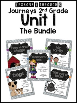 Journeys 2nd Grade Unit 1: The Bundle