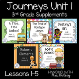 Journeys Unit 1 Bundle (Third Grade)