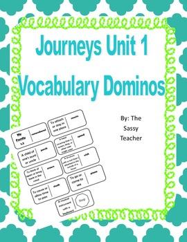 Journeys Unit 1 Vocabulary Dominos