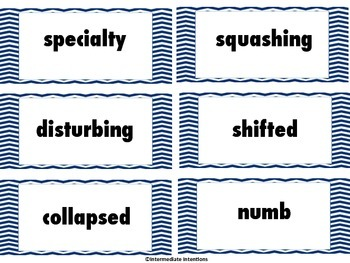 Journeys Unit 1 Word Wall Word Cards - 5th Grade