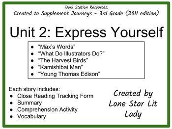 Journeys Unit 2 - 3rd Grade (Supplemental Materials)