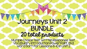 Journeys Unit 2 BUNDLE!