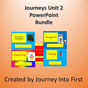 Journeys Unit 2 Powerpoint  Bundle