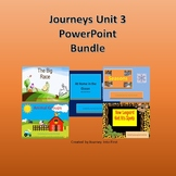 Journeys Unit 3 Powerpoint  Bundle Distance Learning