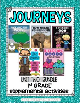 Unit 2 Bundle - First Grade Supplemental Materials
