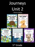 Journeys Unit 2 (Fifth Grade)