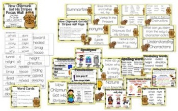Journeys Unit 2 Focus Wall and Anchor Charts and Word Wall Cards