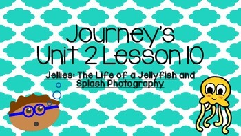 Journeys Unit 2 Lesson 10 Vocabulary Introduction PowerPoint