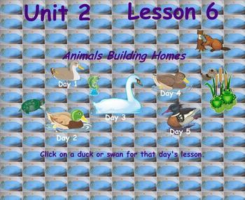 Journeys Reading Unit 2 Lesson 6 Garde 2 Smartboard Lessons