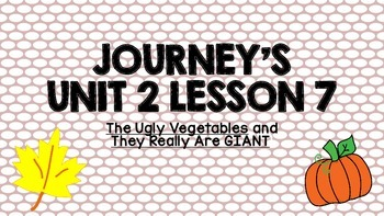 Journeys Unit 2 Lesson 7 Vocabulary Introduction PPT