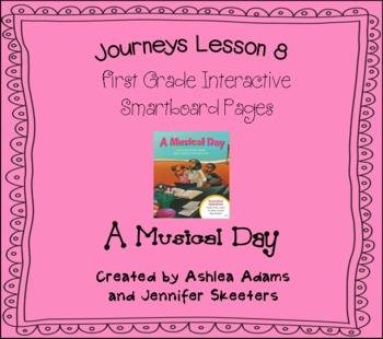 Journeys (2011-2012) Unit 2 Lesson 8 Smartboard First Grade