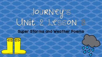 Journeys Unit 2 Lesson 8 Vocabulary Introduction PPT