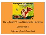 Journeys Unit 2, Lesson 9 How Chipmunk Got His Stripes Smartboard Activity