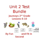 Journeys Unit 2 Assessment Bundle