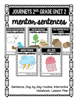 Journeys Unit 2 Mentor Sentences