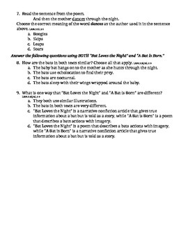 Journey's Unit 2 Paired Text Comprehension Questions Pack