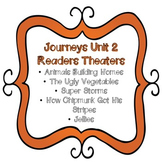 Journeys Unit 2 Reader's Theaters Second ( 2nd ) Grade