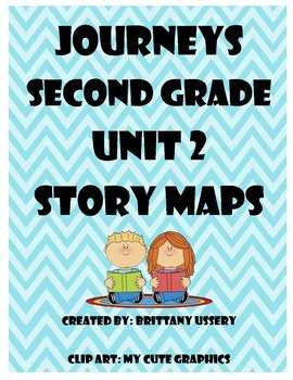 Journeys 2nd grade - Unit 2 - Story Maps & Graphic Organizers