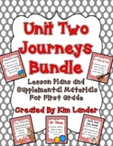 Journeys Unit 2 Supplemental Materials and Lesson Plans for First Grade