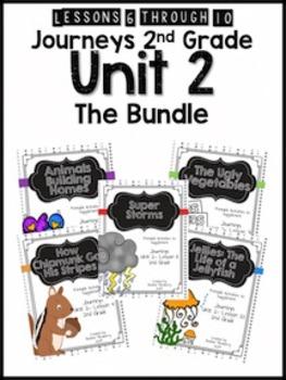 Journeys 2nd Grade Unit 2: The Bundle